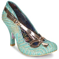 Skor Dam Pumps Irregular Choice BUBBLES Grön / Mynta