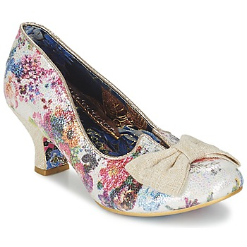 Skor Dam Pumps Irregular Choice DAZZLE RAZZLE Vit