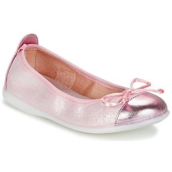 Skor Flickor Ballerinor Citrouille et Compagnie GRAGON Rosa / Paljett