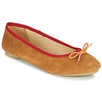 Skor Dam Ballerinor Kickers BAIE Brun / Ljus / Orange