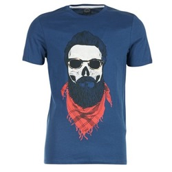 textil Herr T-shirts Jack & Jones TRICK ORIGINALS Marin