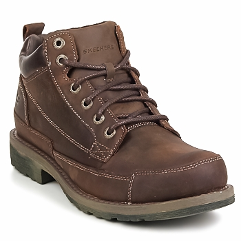 Skor Herr Boots Skechers SHOCKWAVES REGIONS Brun