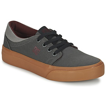 Skor Barn Sneakers DC Shoes TRASE TX B SHOE XSSR Grå / Röd