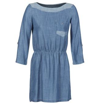 textil Dam Korta klänningar Esprit CHAVIOTA Blå