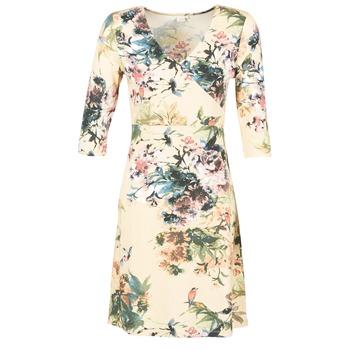 textil Dam Korta klänningar Cream ROSEMARY Flerfärgad