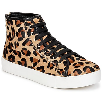 Skor Dam Höga sneakers North Star BEID Leopard