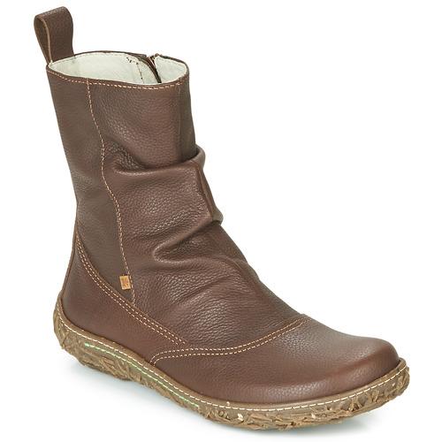 Skor Dam Boots El Naturalista NIDO TRAMBU Brun