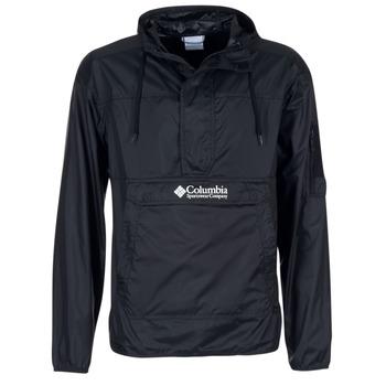 textil Herr Vår/höstjackor Columbia CHALLENGER Svart