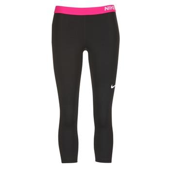 textil Dam Leggings Nike NP CL CAPRI Svart / Rosa