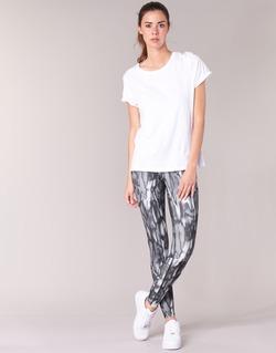 textil Dam Leggings Nike PWR LGND TGHT PRNT Grå / Svart
