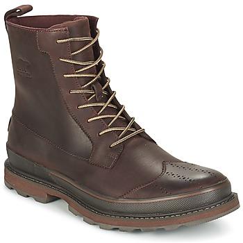 Skor Herr Boots Sorel MADSON WINGTIP BOOT Brun