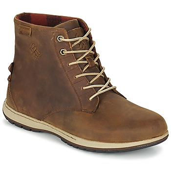 Skor Herr Boots Columbia DAVENPORT SIX WATERPROOF LEATHER Elk / Buro