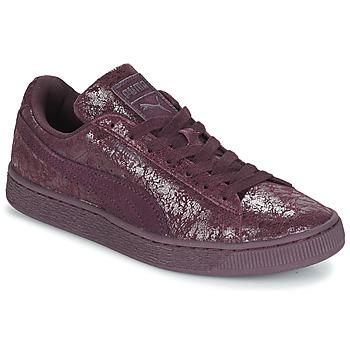 Skor Dam Sneakers Puma WNS SUEDE C REMAST.WINE Violett