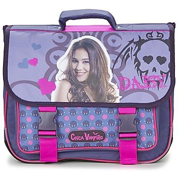 Väskor Flickor Skolväskor Dessins Animés CHICA VAMPIRO CARTABLE 38CM Violett