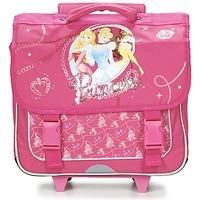 Väskor Flick Skolväskor på hjul Disney PRINCESSES CARTABLE TROLLEY 38CM Rosa