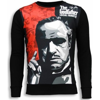 textil Herr Sweatshirts Local Fanatic Padrino The Godfather Svart
