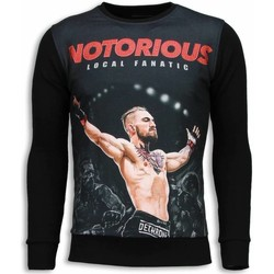 textil Herr Sweatshirts Local Fanatic Notorious McGregor Z Svart
