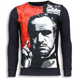 textil Herr Sweatshirts Local Fanatic Padrino The Godfather Grå