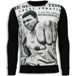 textil Herr Sweatshirts Local Fanatic Muhammad Ali Spaper Svart
