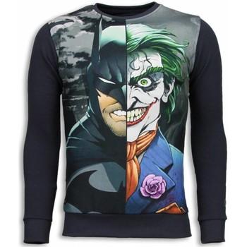 textil Herr Sweatshirts Local Fanatic Bad Joker Bad Tjock Grå