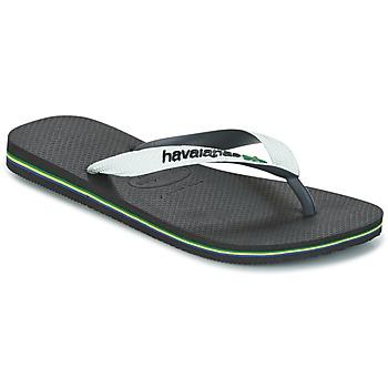Skor Flip-flops Havaianas BRASIL MIX Vit / Svart