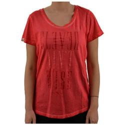textil Dam T-shirts Puma  Rosa