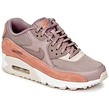 Skor Dam Sneakers Nike AIR MAX 90 W Mullvadsfärgad / Rosa