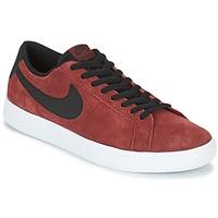 Skor Herr Sneakers Nike BLAZER VAPOR LOW SB Bordeaux / Vit