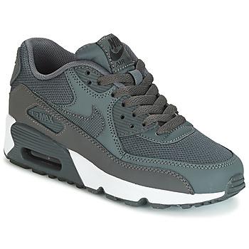 Skor Pojk Sneakers Nike AIR MAX 90 MESH GRADE SCHOOL Grå