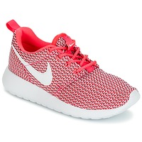 Skor Flick Sneakers Nike ROSHE ONE GRADE SCHOOL Rosa / Vit
