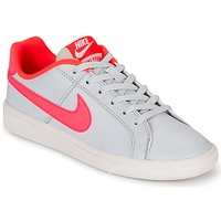 Skor Flick Sneakers Nike COURT ROYALE GRADE SCHOOL Grå / Rosa