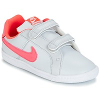 Skor Flick Sneakers Nike COURT ROYALE TODDLER Grå / Rosa