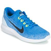 Skor Herr Löparskor Nike LUNARGLIDE 9 Blå