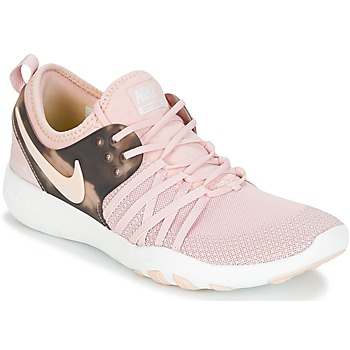 Skor Dam Fitnesskor Nike FREE TRAINER 7 AMP W Rosa