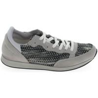 Skor Dam Sneakers Ippon Vintage Run Street Blanc Gris Grå