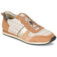 Skor Dam Sneakers Bocage LANNY COGNAC / Vit