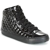 Skor Flickor Höga sneakers Geox J KALISPERA G.F Svart
