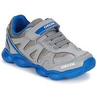 Skor Pojk Sneakers Geox J MUNFREY B. A Grå / Blå