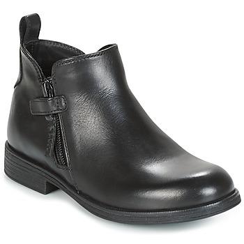 Skor Flickor Boots Geox J AGATA C Svart