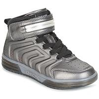 Skor Pojk Höga sneakers Geox J ARGONAT B. B Svart