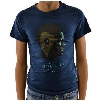 textil Barn T-shirts Puma  Blå