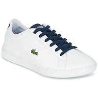 Skor Barn Sneakers Lacoste CARNABY EVO Vit / Marin