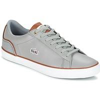 Skor Herr Sneakers Lacoste LEROND 3 Grå / Brun