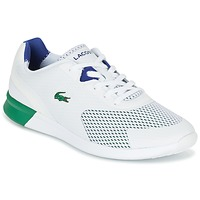 Skor Herr Sneakers Lacoste LTR.01 Vit / Grön