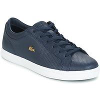 Skor Dam Sneakers Lacoste STRAIGHTSET Marin
