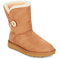 Skor Dam Boots UGG BAILEY BUTTON II CHESTNUT