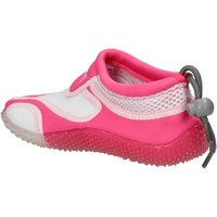 Skor Flickor Sneakers Everlast sneakers bianco tessuto rosa gomma AF851 Multicolore