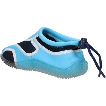 Skor Pojkar Sneakers Everlast sneakers blu tessuto celeste gomma AF852 Multicolore