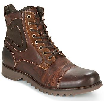 Skor Herr Boots Jack & Jones DEAN LEATHER Brun