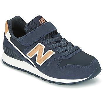 Skor Barn Sneakers New Balance KV996 Marin / Vit